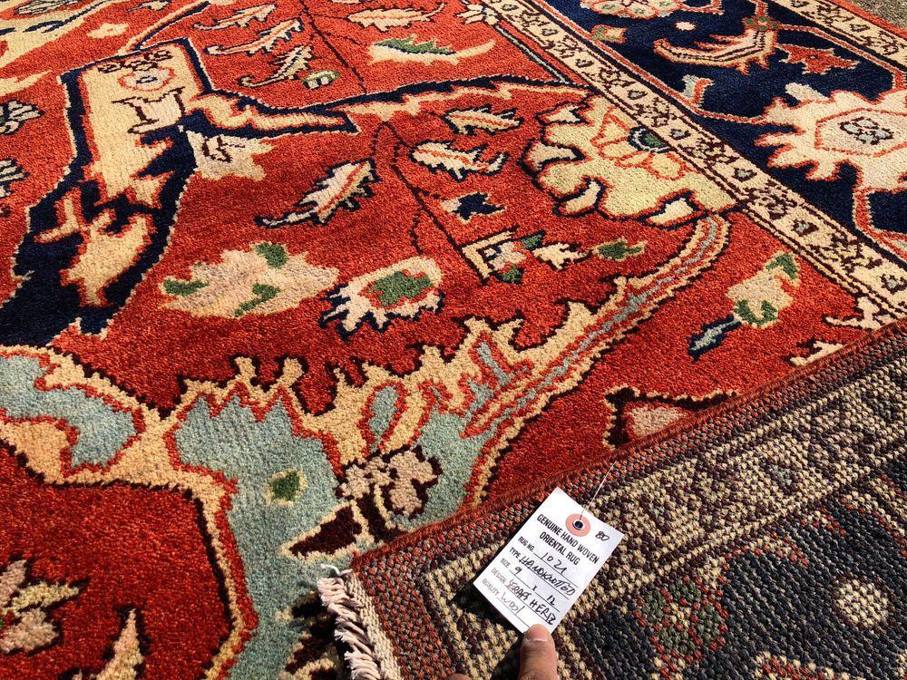 9x12 Oriental Hand Knotted Rug Wool Handmade Rugs Persian Carpet