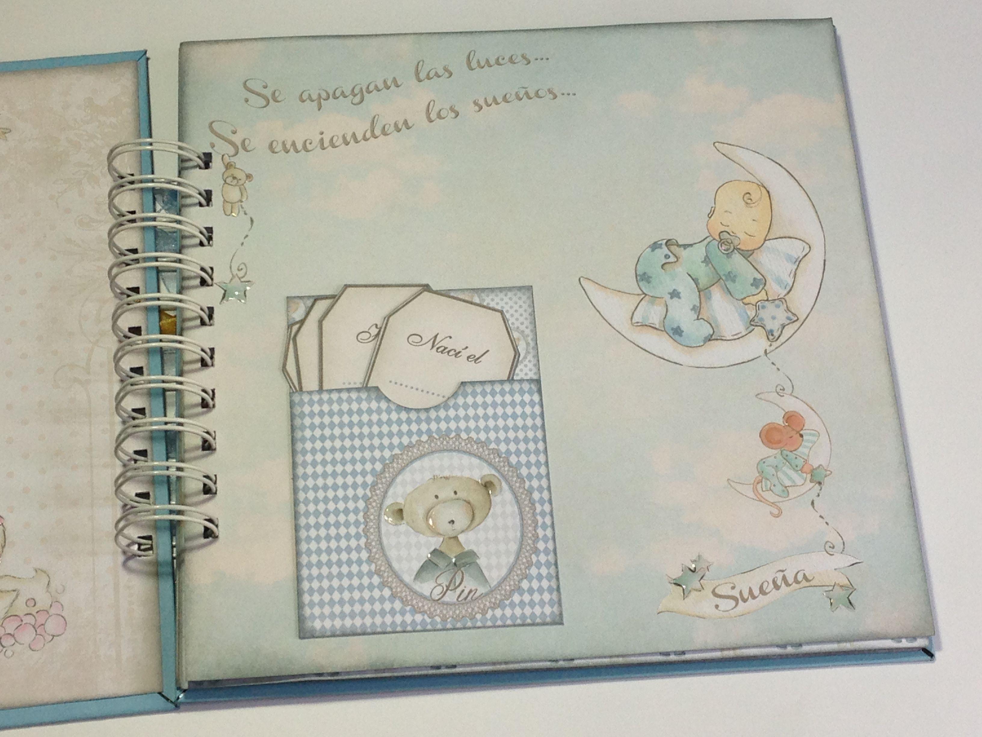 Nuevo Bebé hermano pequeño álbum de fotos Idea de Regalo