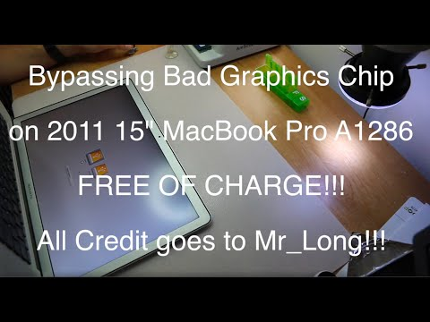 Bypassing Bad Graphics Chip Via Gmux On 2011 15 And 17 Macbook Pro A1286 A1297 Free Of Charge Youtube Macbook Pro A1286 Macbook Pro Macbook