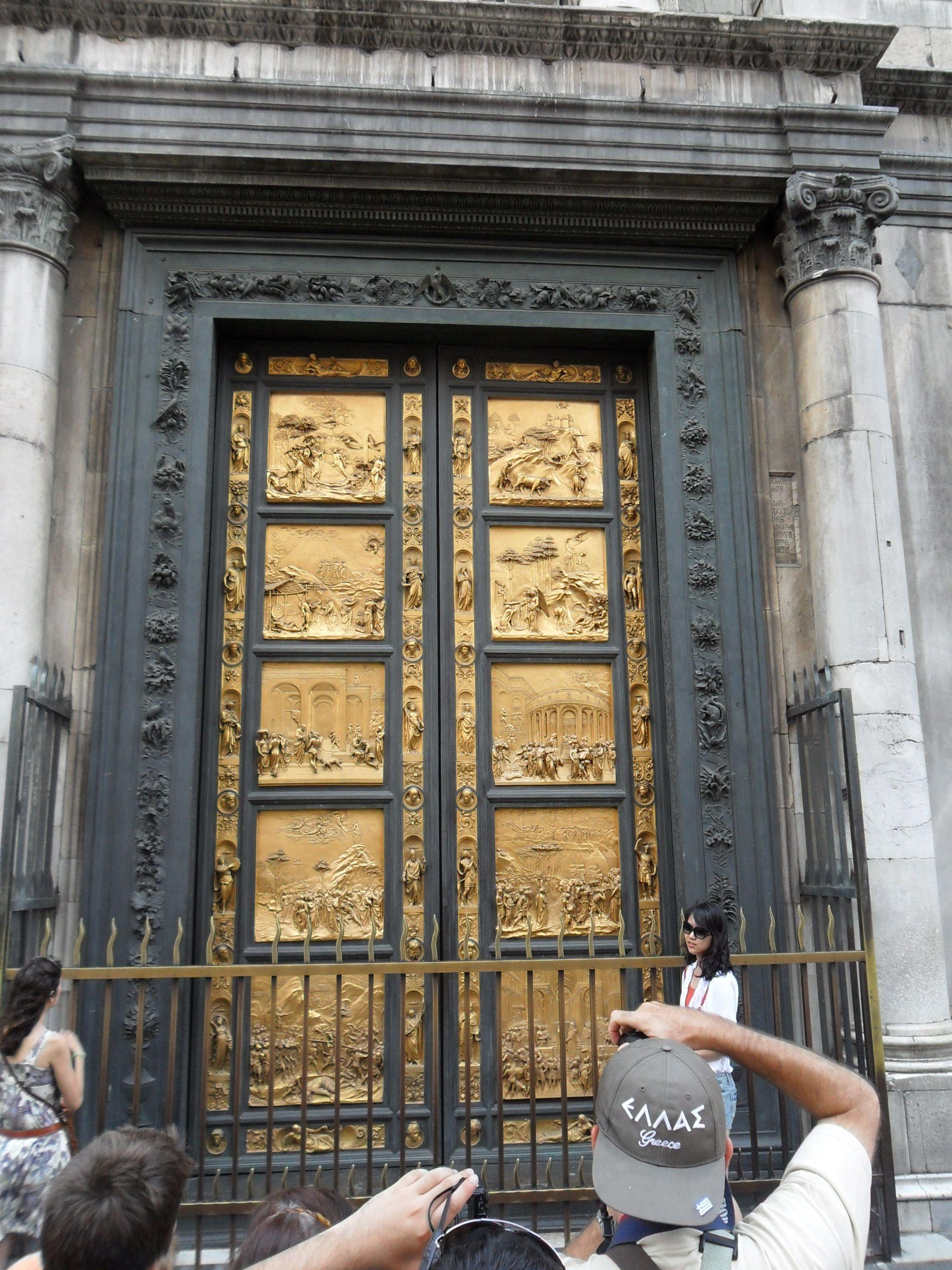 The golden door. (The Baptistry Doors - Florence ...