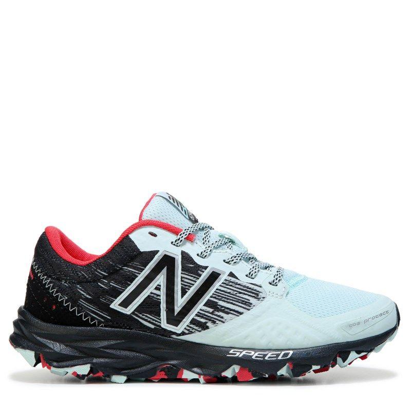 New Balance Women's 690 V2 Trail Running Shoes (Droplet/Black/Pink)