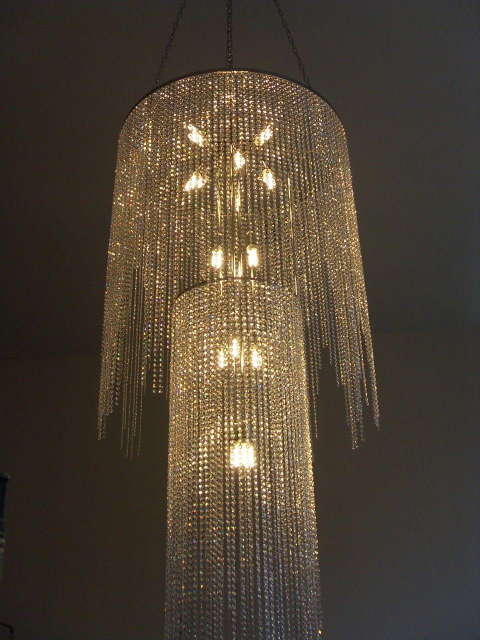 Chandelier bespoke double tier circular chandelier master bed chandelier bespoke double tier circular chandelier arubaitofo Images