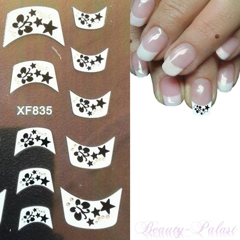 www.beauty-palast.net French Design mal anders. Frenchsticker machen ...