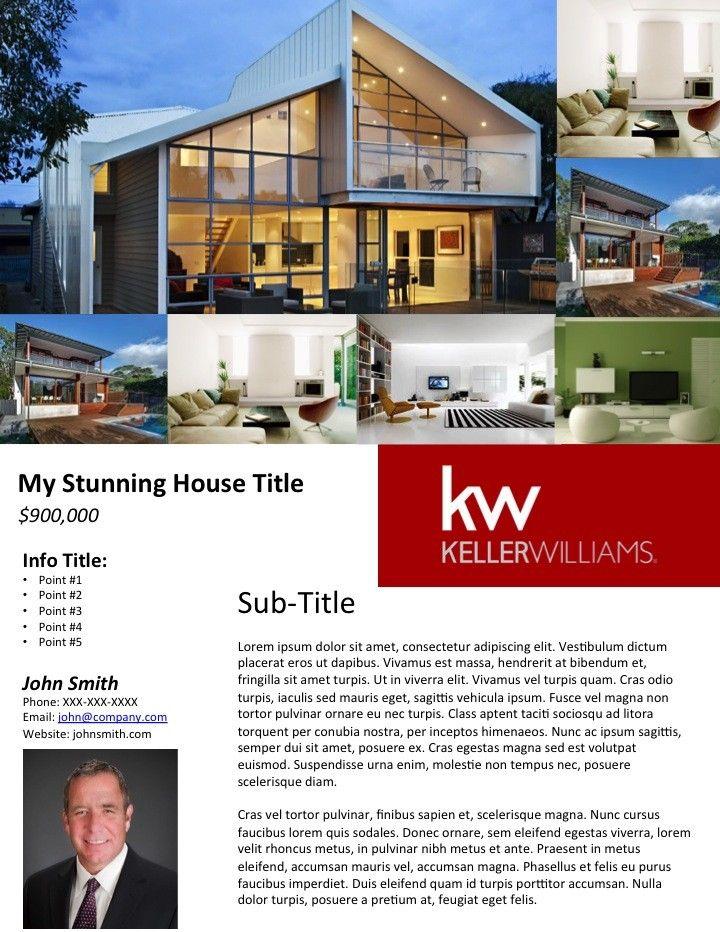 Free Real Estate Flyer Templates Broker