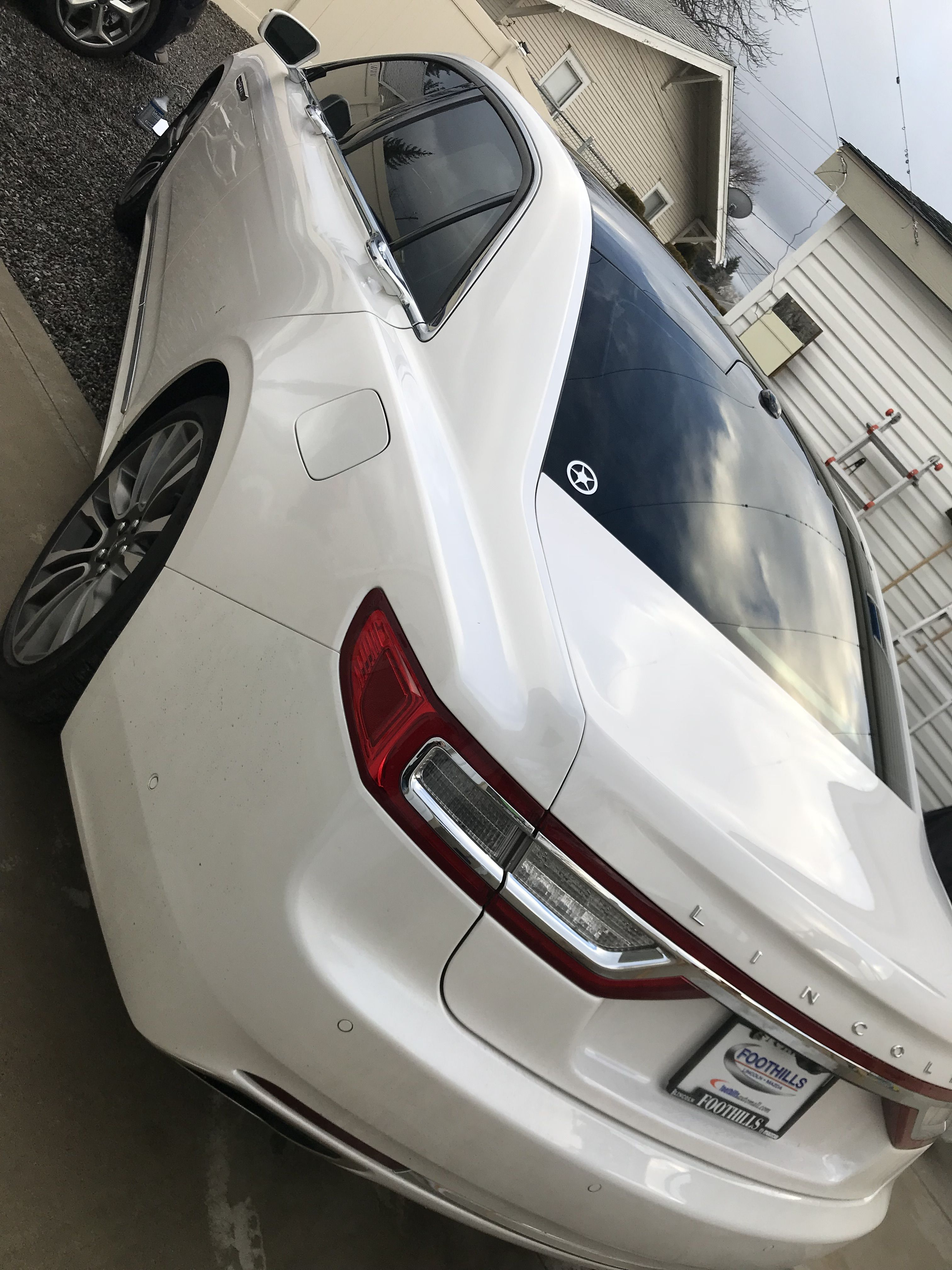 Sick new Tint job done here on this brand new Lincoln ...
