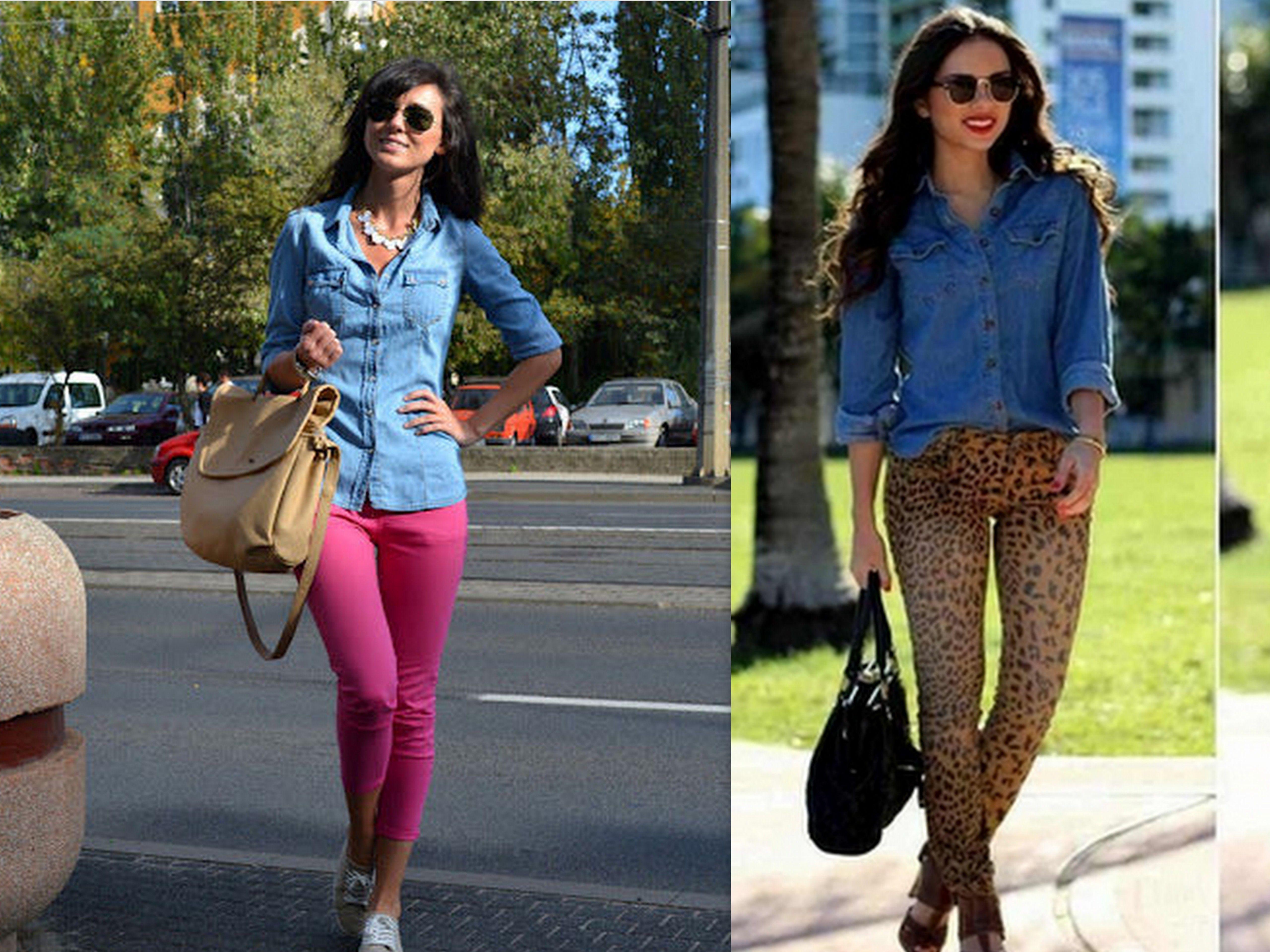Spodnie W Kwiaty Z Czym Nosic Szukaj W Google Fashion Capri Pants Pants