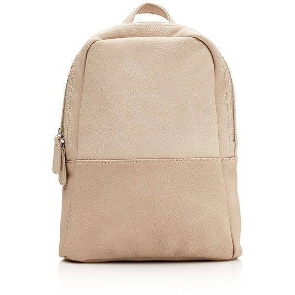 MACK BACKPACK (33 BGN) ❤ liked on Polyvore featuring bags