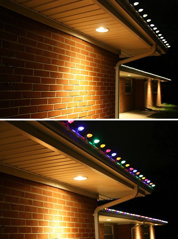 Please the whole family with color change Christmas lights ...