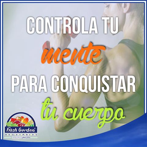 """""""Controla tu mente para conquistar tu cuerpo""""  #FraseDelDía #Motivación"""