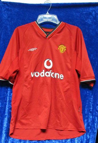 9262343321d Paul Scholes Manchester United 2000 02 Vodafone Umbro XL Soccer Football  Jersey