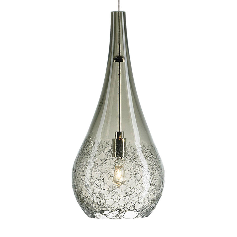 Seguro Satin Nickel One Light Mini Pendant Lbl Lighting