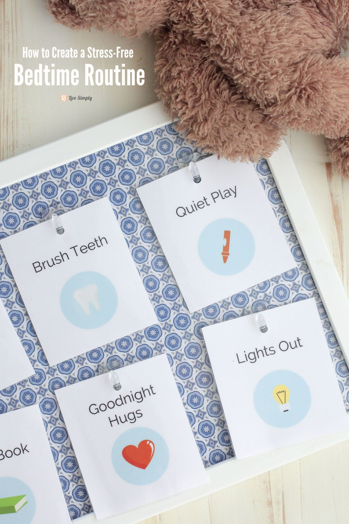 How To Create A Stress Free Bedtime Routine Printable
