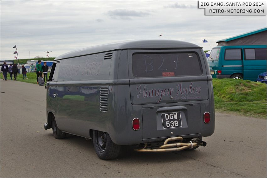 Grey Hangar Autos Vw Type 2 Split Screen Panel Van Dgw53b