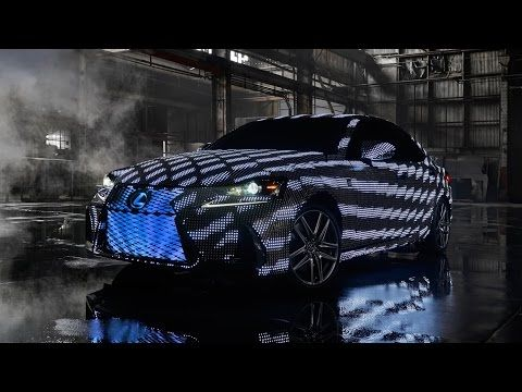 Lexus LIT IS Lexus Show Car With LEDs Random Cool - Cool cars music