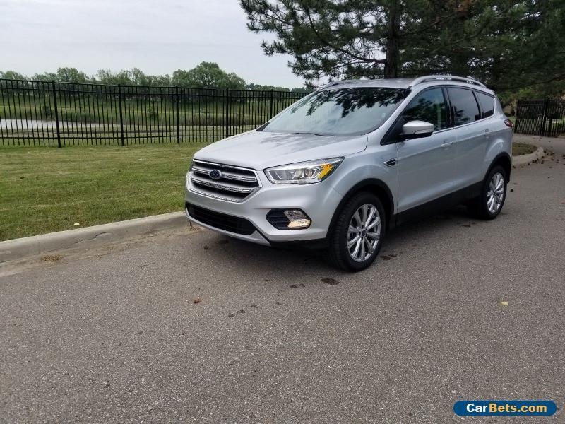 2017 Ford Escape Titanium Ford Escape Forsale Canada Ford
