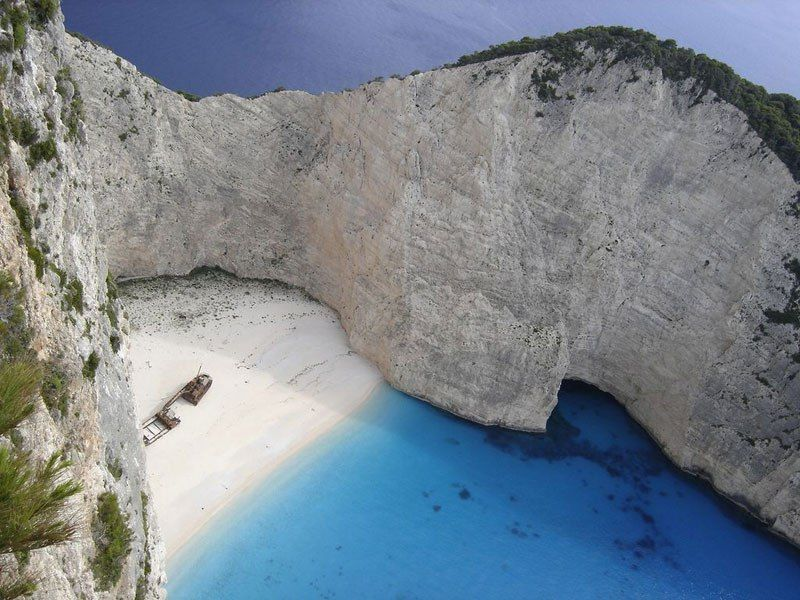 Shipwreck Beach Navagio Zakynthos Greece Picture Of The Day