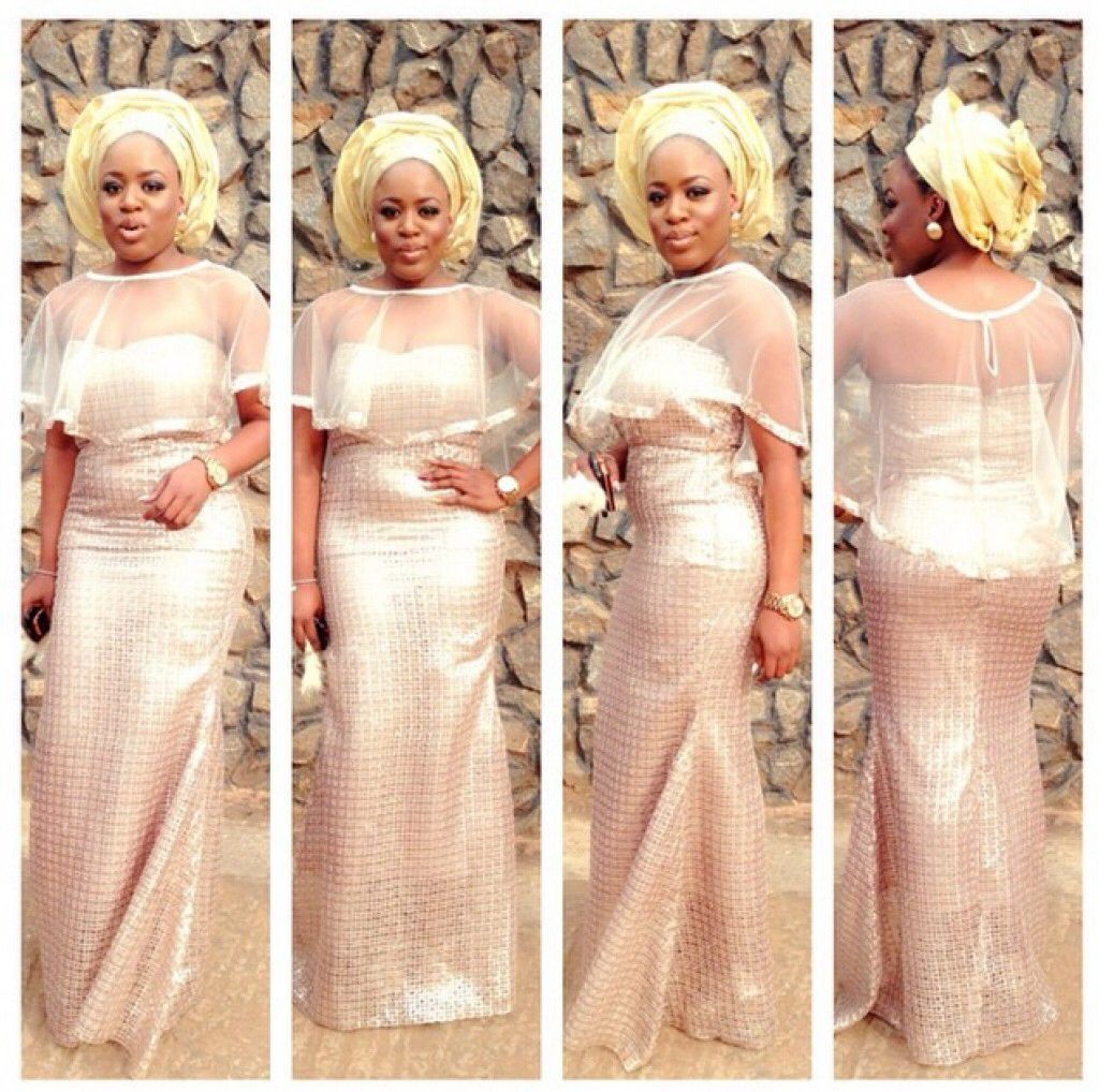 Ghana lace dress styles  Aso ebi Latest African Fashion African Prints African fashion