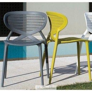 Modern Design Plastic Garden Chairs Angel 84 Chaise De Jardin Chaise Terrasse Mobilier Jardin
