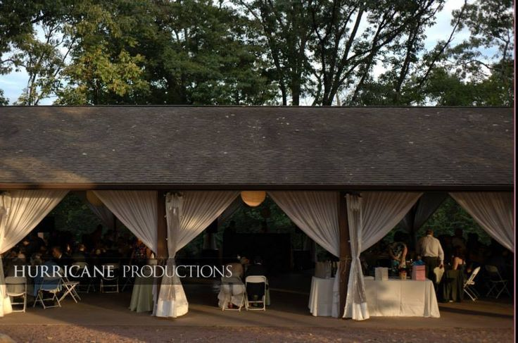 How To Decorate A Pavilions For Wedding