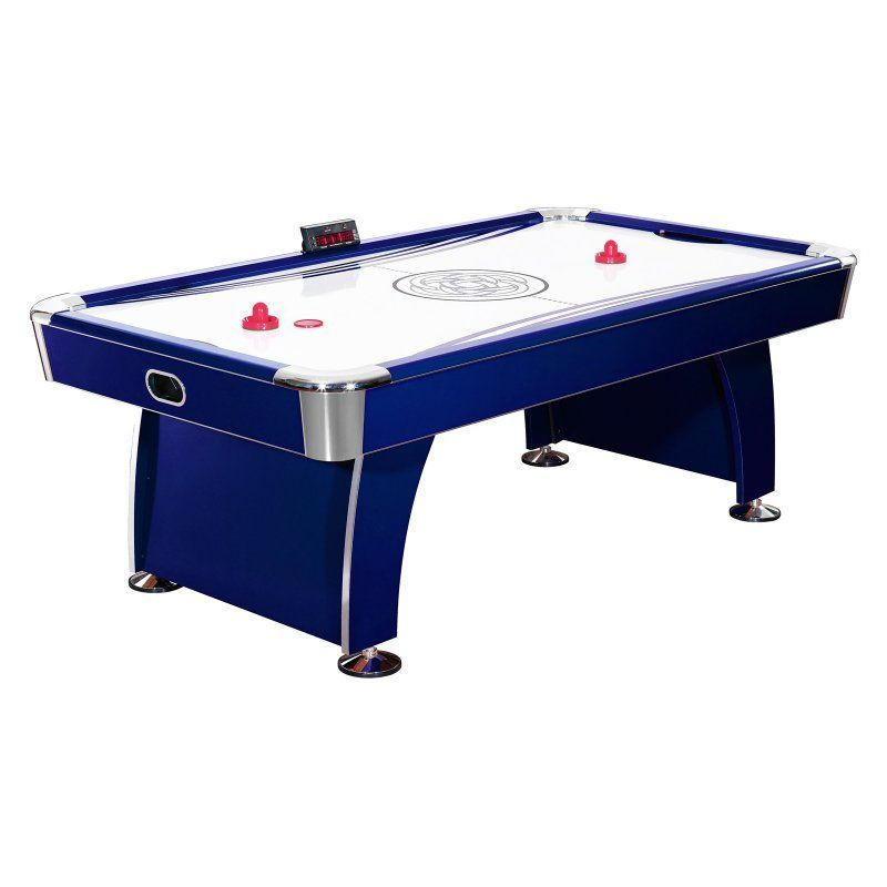 Hathaway 7.5 Ft. Phantom Air Hockey Table With Electronic Scoring   BG1038H