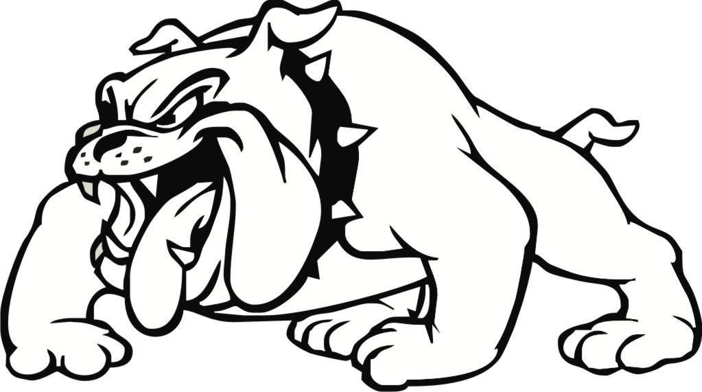free bulldog clipart pictures clipartix 2 crafts pinterest rh pinterest com bulldog football mascot clipart georgia bulldog mascot clipart