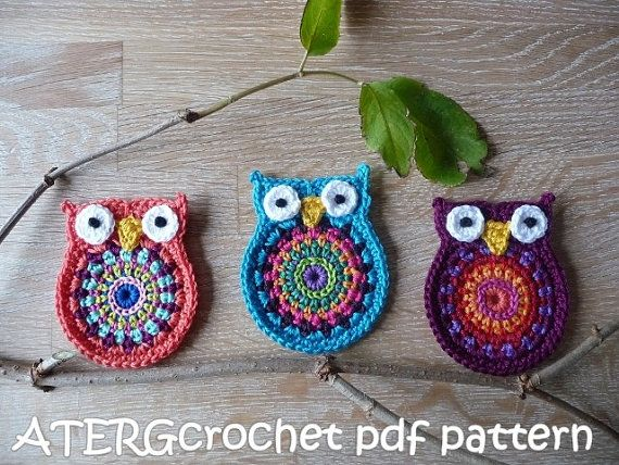 Crochet pattern OWL 'big brother' by ATERGcrochet by ATERGcrochet