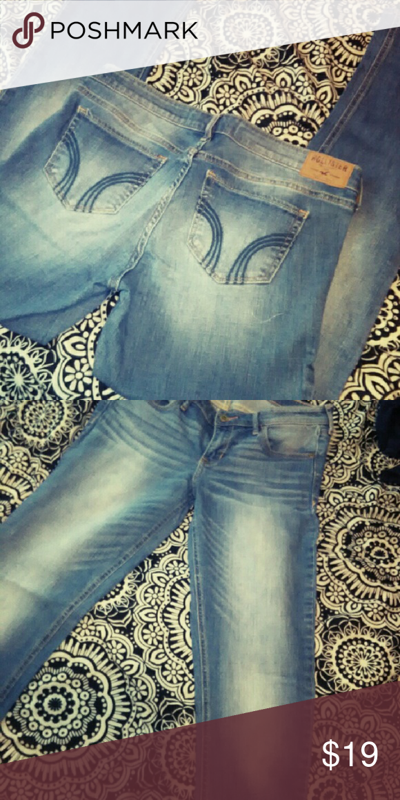 Hollister Jeans I never even wore these, they were a gift! Brand new! Bootcut Hollister Jeans