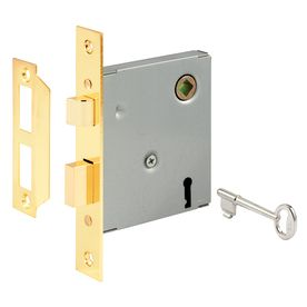 Gatehouse 5 1 2 In Keyed Face Plate Mortise Replacement Lock Assembly Mortise Lock Door Handle Sets Entry Door Handles