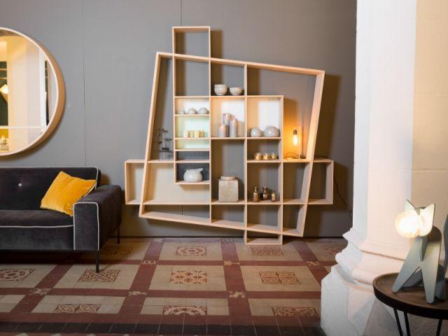 Une Etagere Equilibriste Pour Un Salon Atypique Une Etagere Originale Pour Mon Salon Mobilier De Salon Decoration Maison Mobilier Design