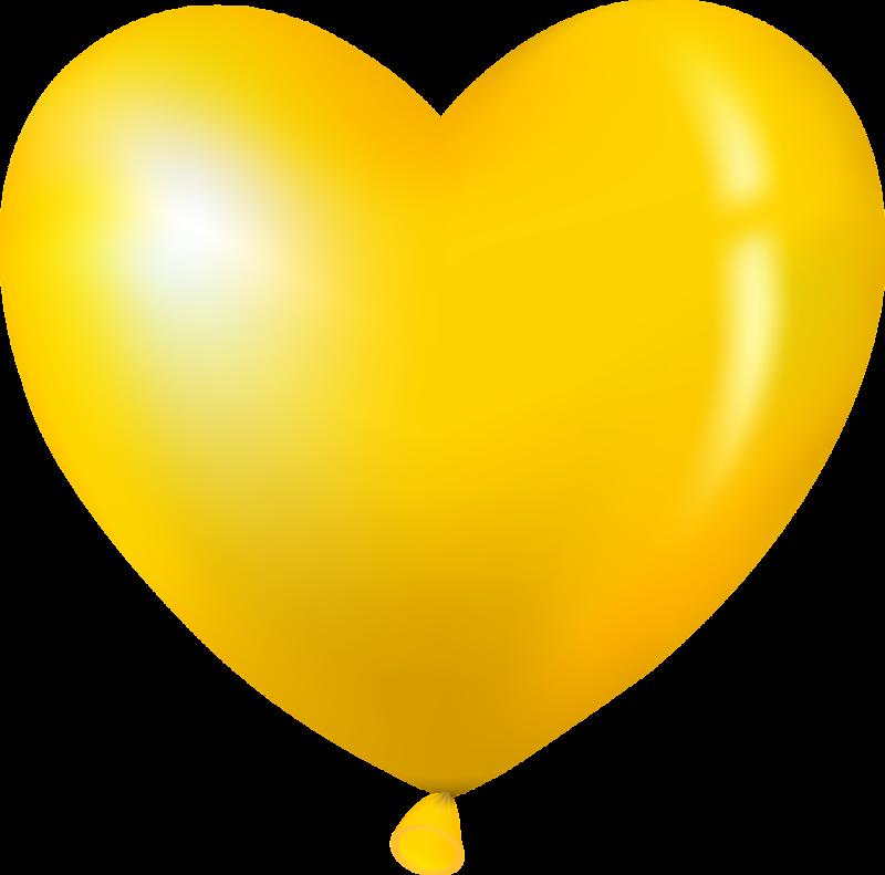 желтое сердце картинка народе площади