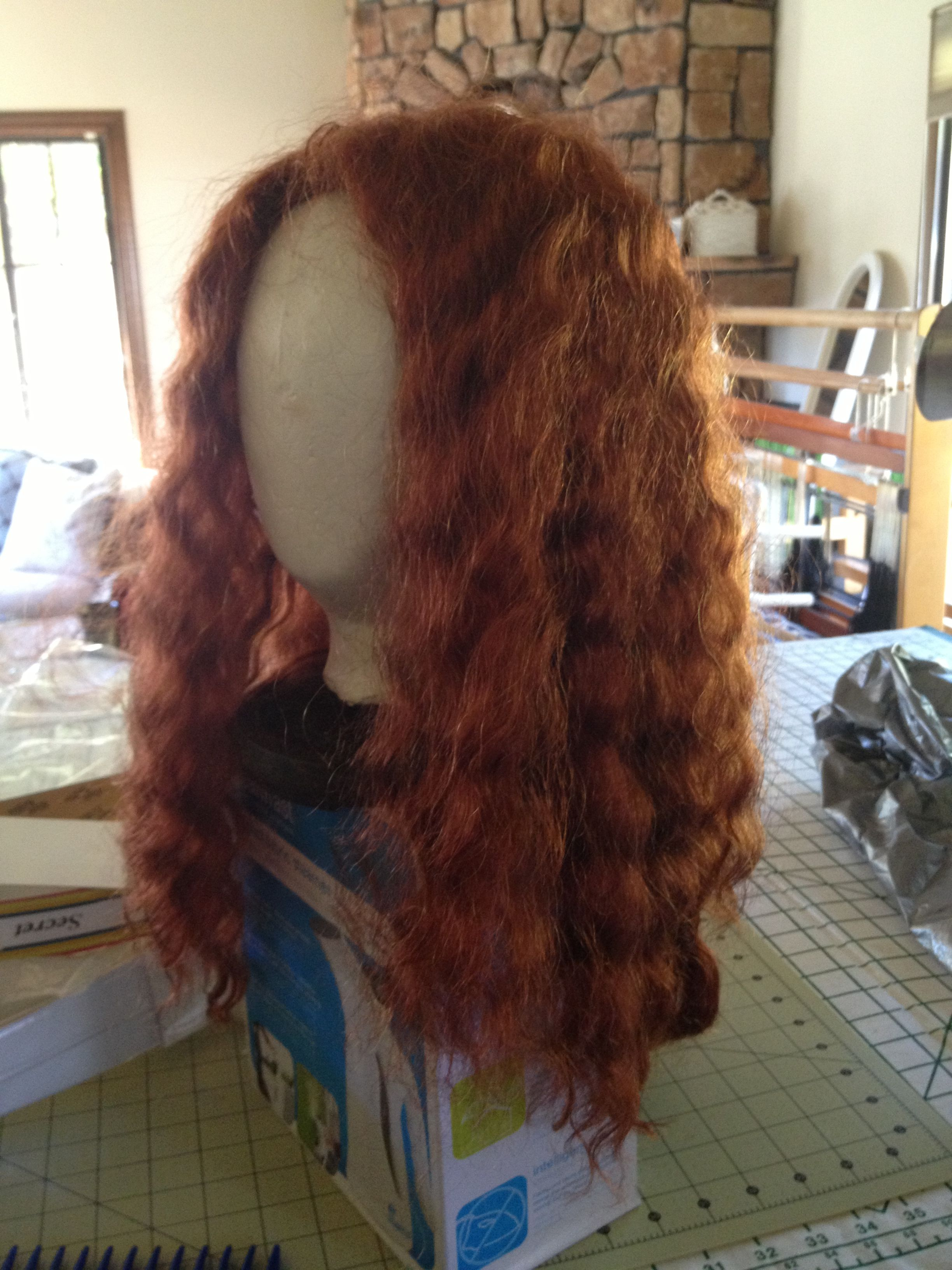 Regina M10/KAB10 - long curly copper  Long curly, Wigs, Hair styles