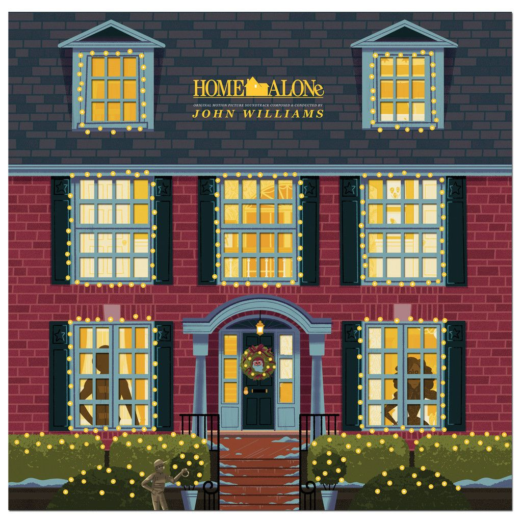 Home Alone Original Motion Picture Soundtrack 2XLP | Home alone, Film home, Classic christmas songs