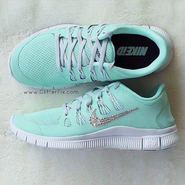 Diamond studded Nike Free Runs