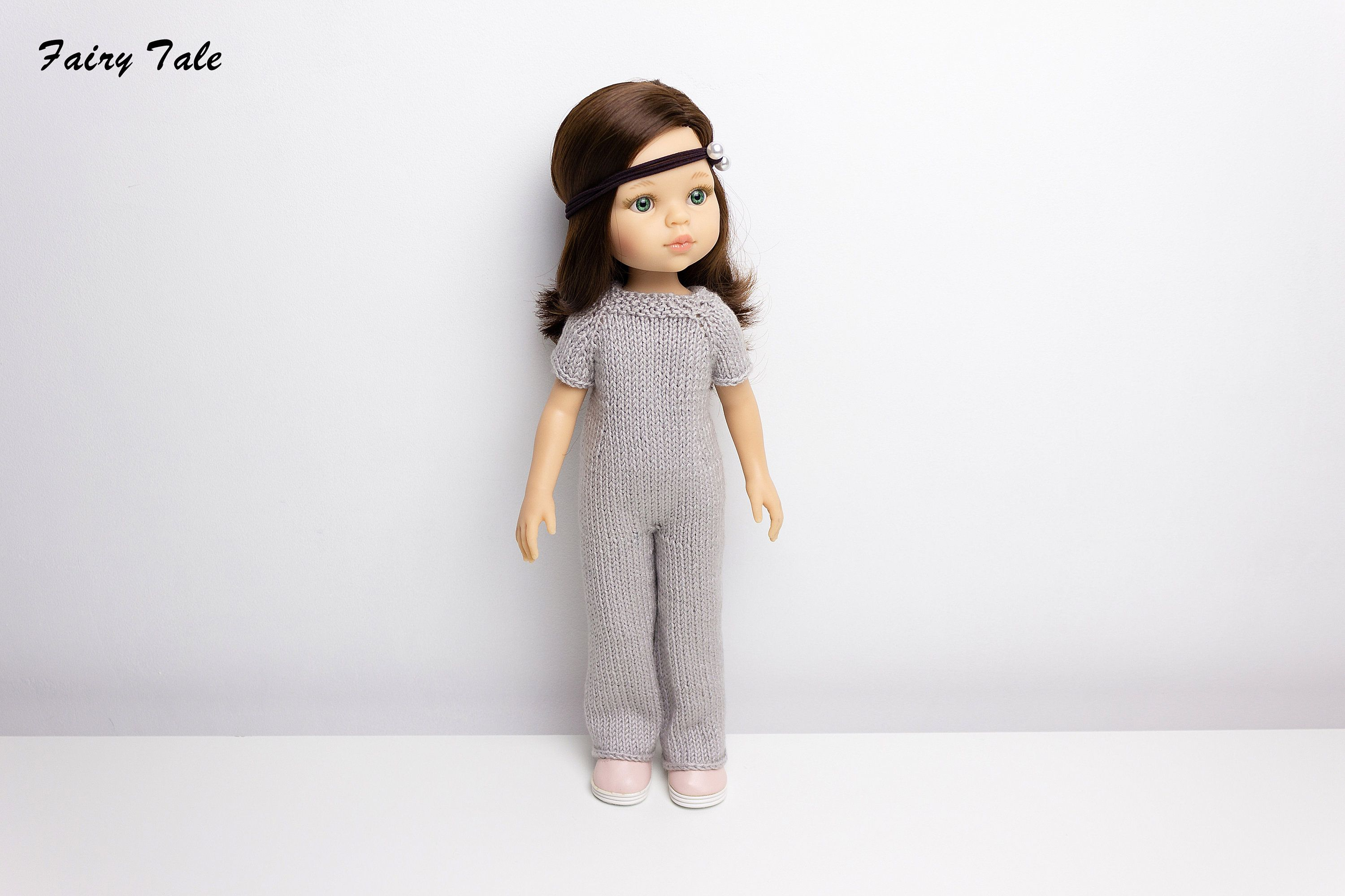 Paola Reina knit pattern Overalls knitting pattern for Paola Reina instand download PDF file beginner level