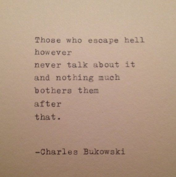 Charles Bukowski Quote #motivationalquotes