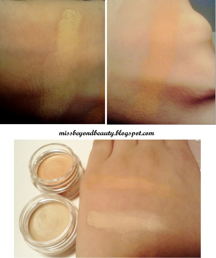 Miss Beyond Beauty Concealer Critic NYX Concealer in a