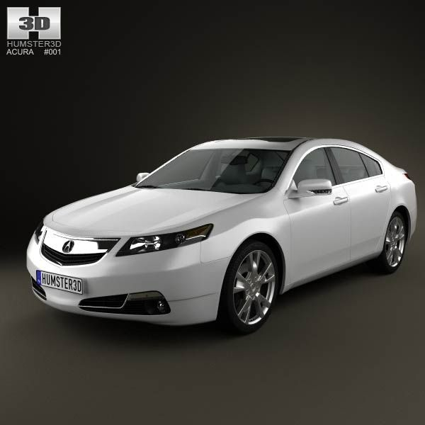 Acura TL 2012 3d Model From Humster3d.com. Price: $75