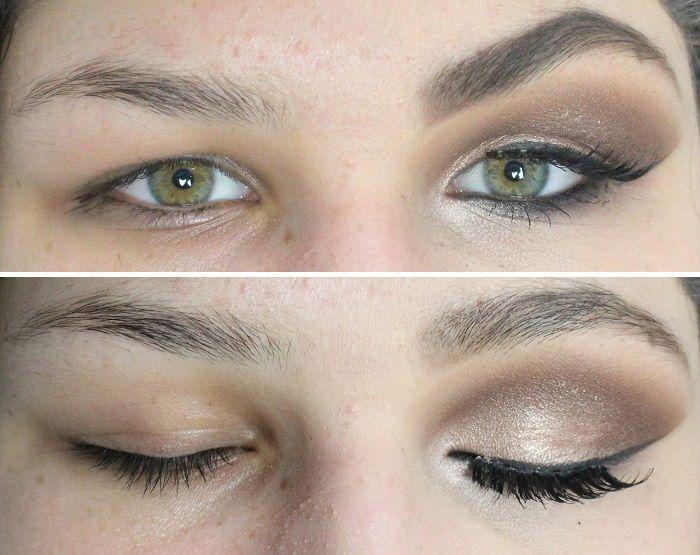 Favoritos Maquiagem para Pálpebra Gordinha e Olhos Pequenos! Como Aumentar  DH13