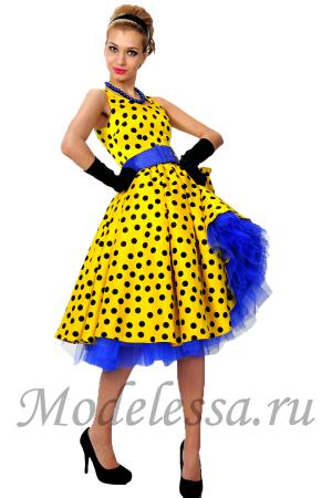 Платья в стиле стиляг для девочек купить в ростове