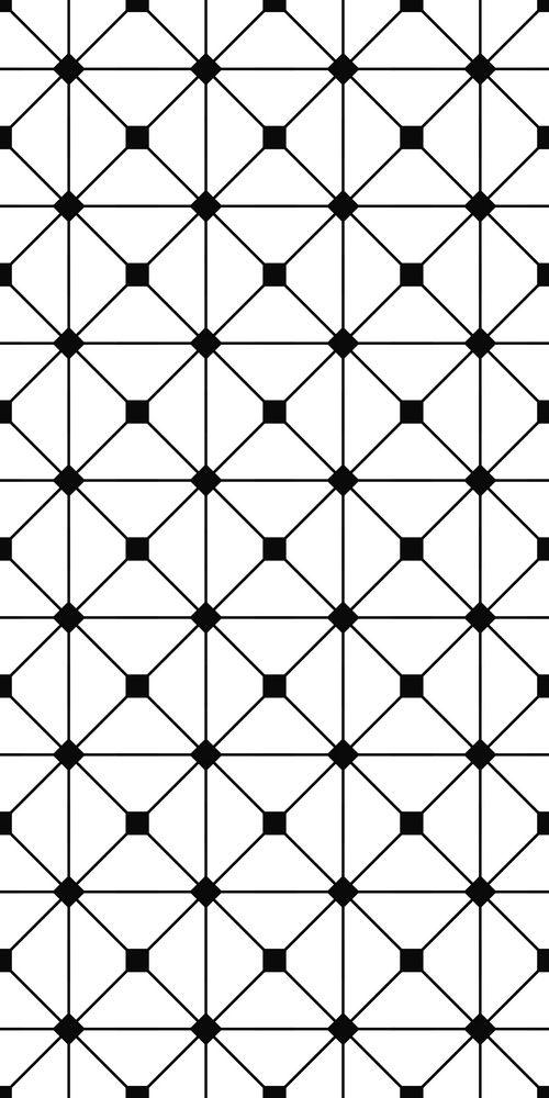 Seamless Monochrome Grid Pattern Planos De Fundo Stencil Parede Estampas