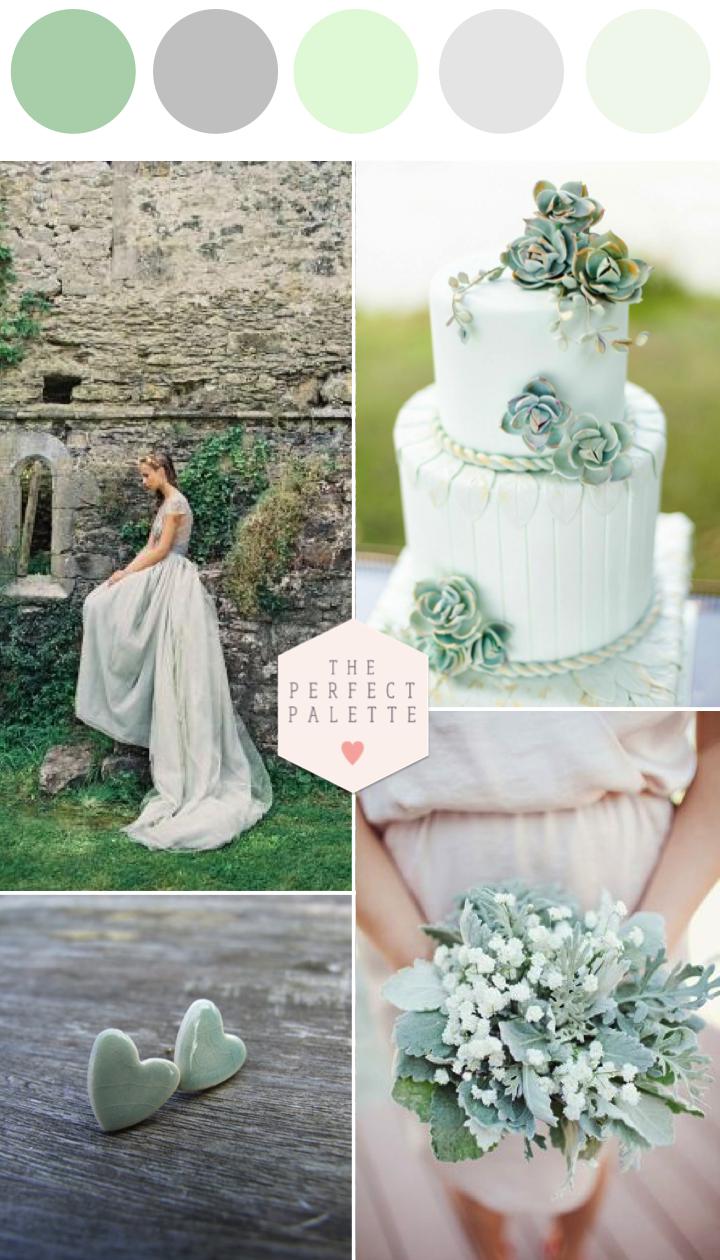 Grayed Jade Wedding Inspiration In 2019 Creative Wedding