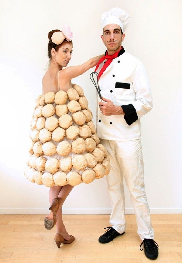 17 DIY Halloween Costumes for Modern Couples Halloween costumes - food halloween costume ideas