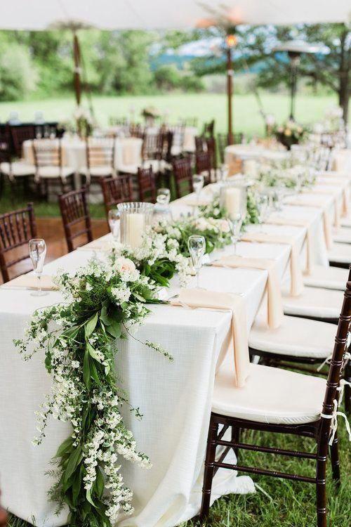 36 Greenery Wedding Centerpieces To Inspire