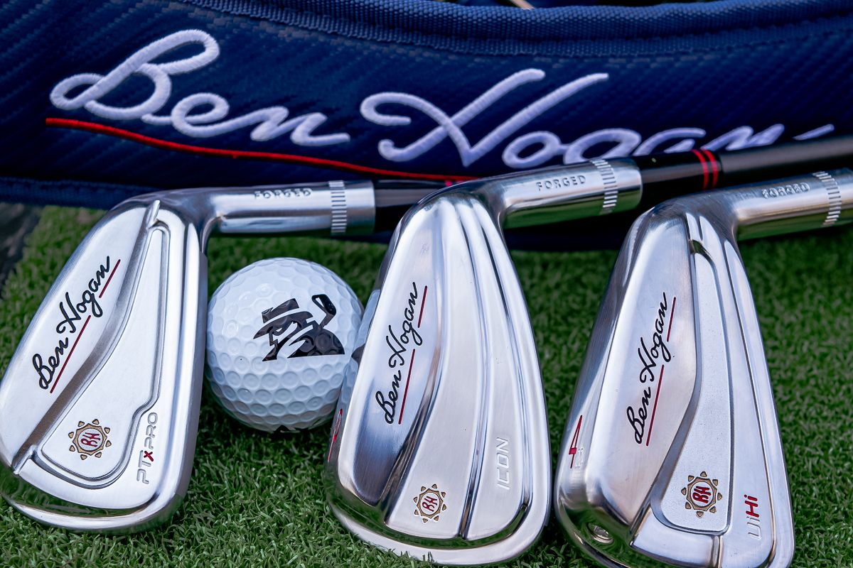 Ben Hogan Player's Iron Combo Set, UiHi Utilities & VKTR