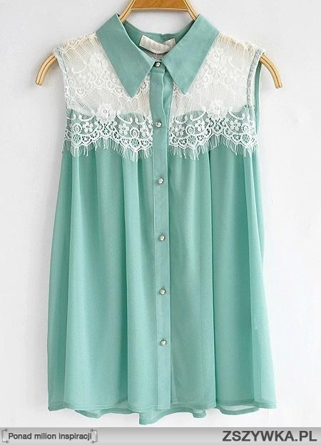 Untitled mint,  shirt