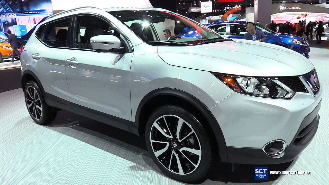 2017 Detroit Auto Show 2017 Nissan Rogue Sport (With
