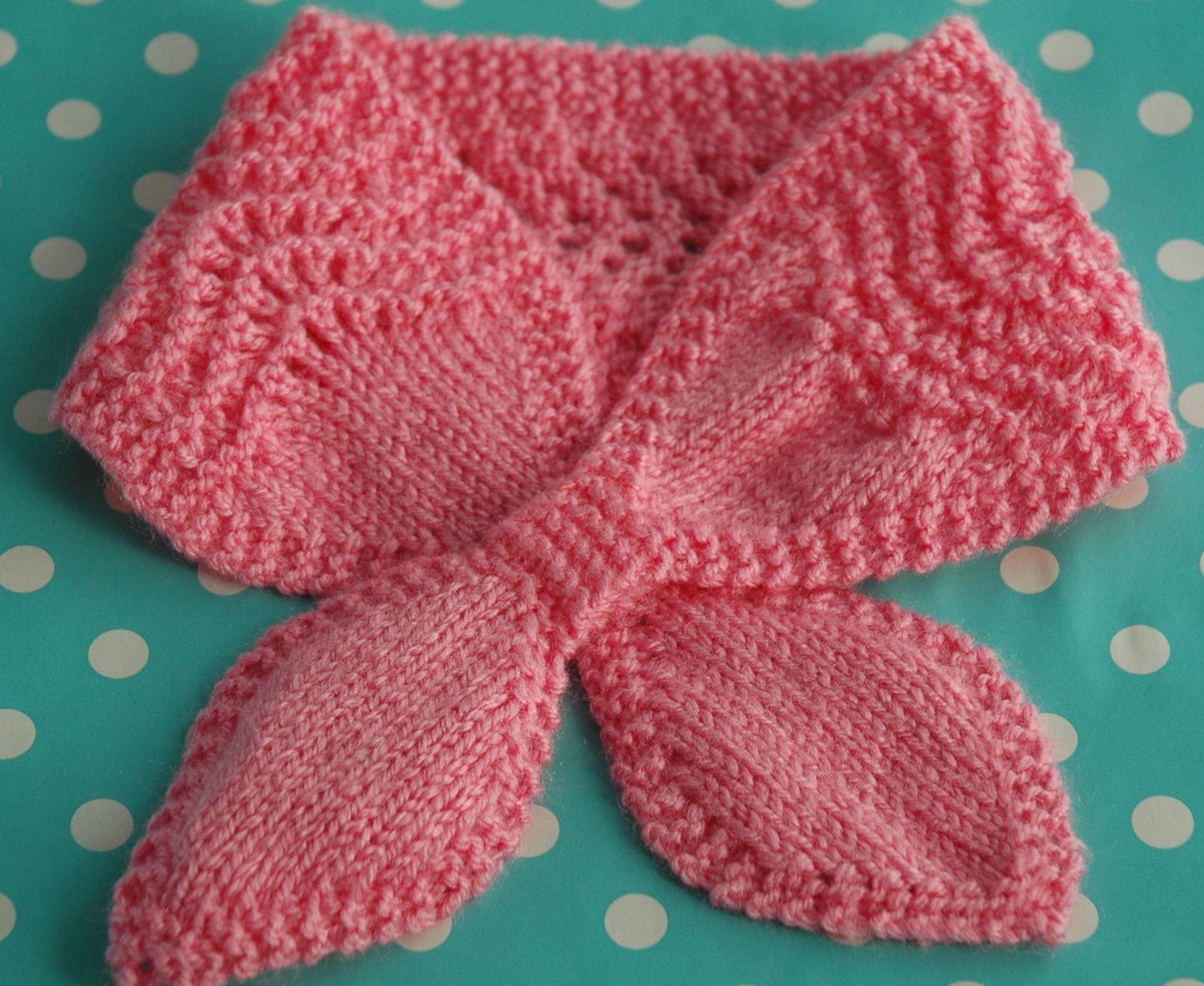 Lacy dog scarf knitting pattern | Κασκόλ με βελόνες | Pinterest ...