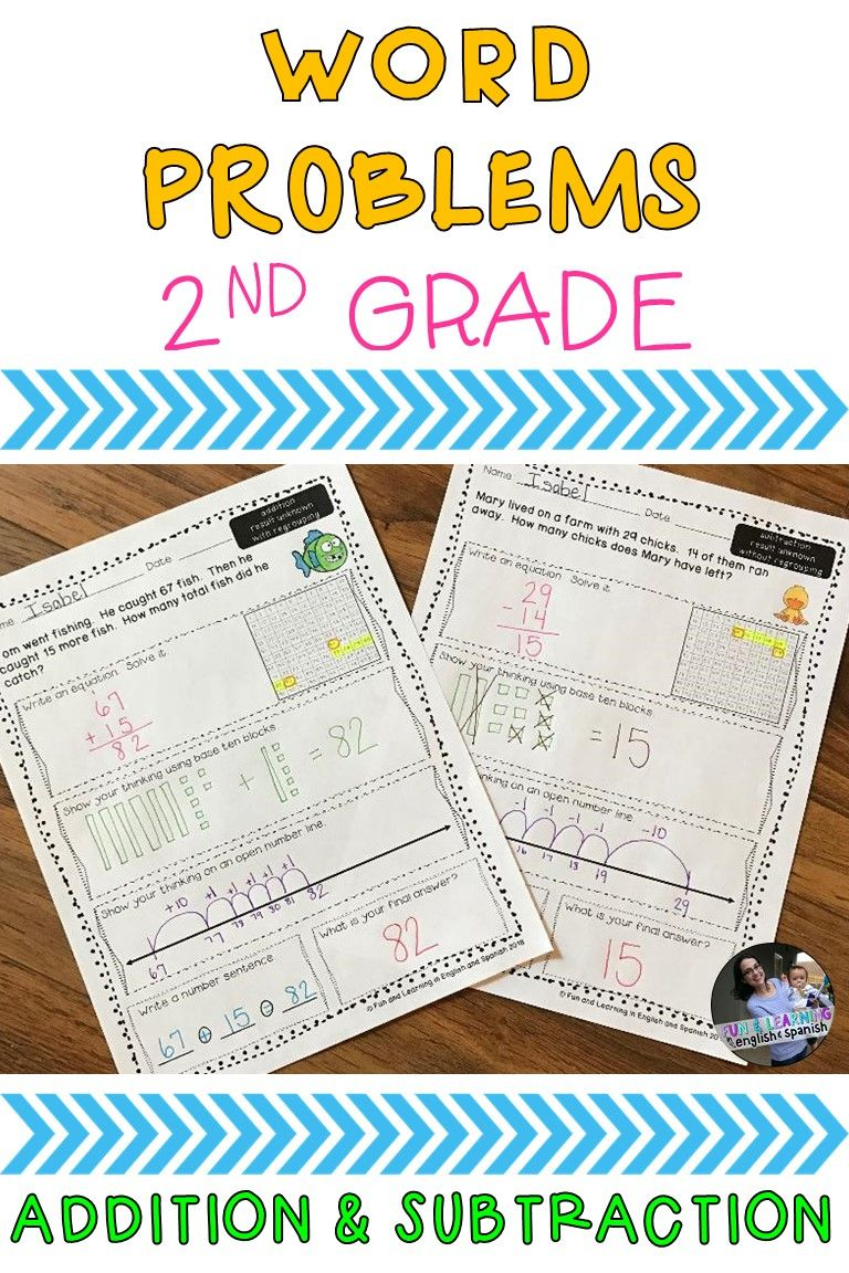 2nd Grade Word Problems Add Subtract W Digital Option Distance Learning Word Problems Subtraction Word Problems Word Problem Worksheets [ 1152 x 768 Pixel ]