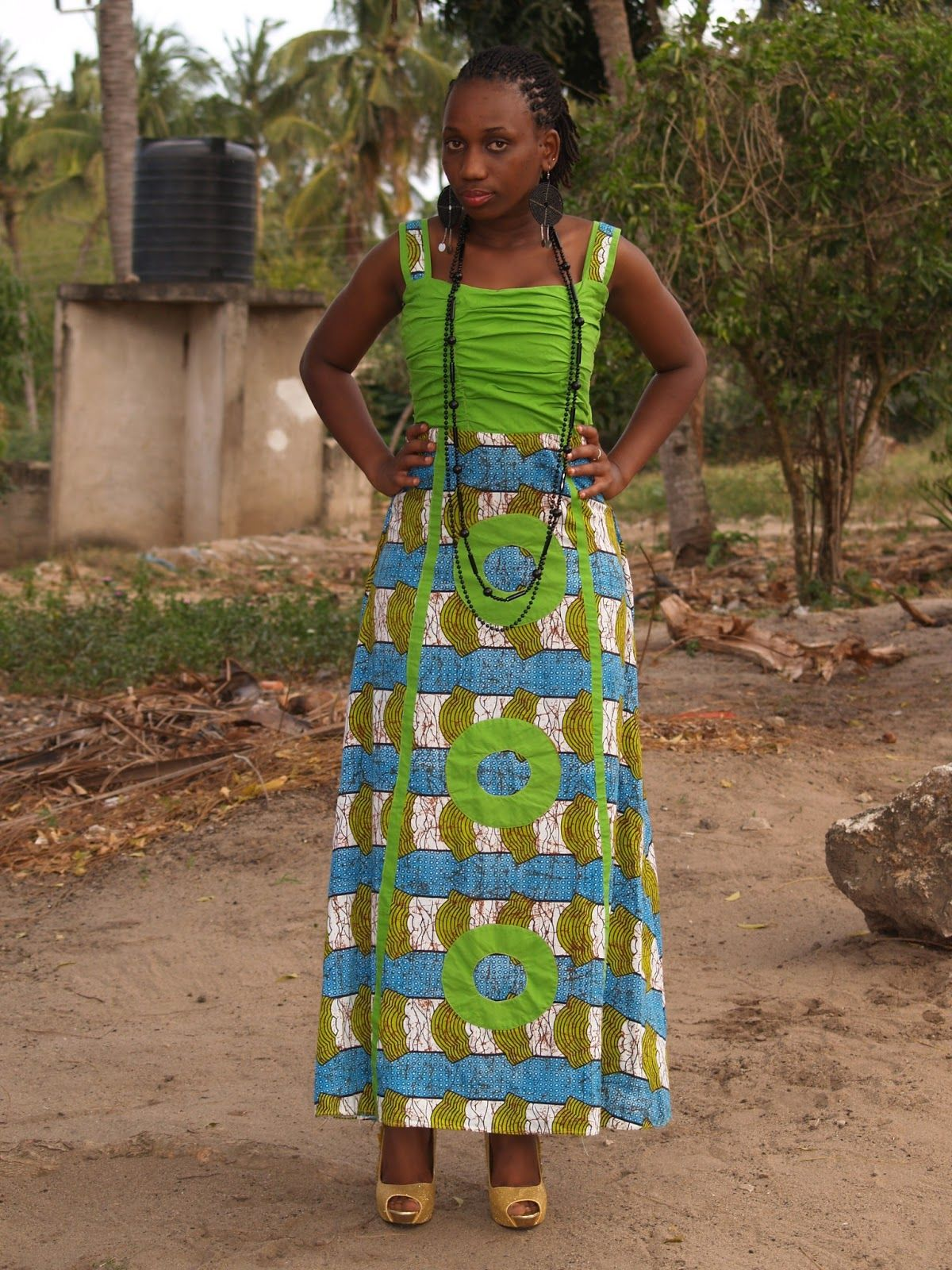 Kitenge dress african fashion gowns pinterest kitenge african