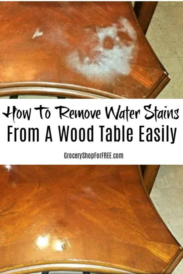 How To Remove Water Stains Or Burns From A Wood Table Easily Stain On Cleaning - How To Remove Water Stains From Hardwood Table